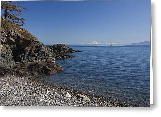 Baker Island Greeting Cards - An Empty Beach On A Sunny Day Greeting Card by Taylor S. Kennedy