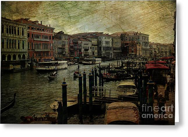 Italian Sunset Greeting Cards - An Evening in Venice - Venezia - Venetian -  Venexia - Venetia Greeting Card by Lee Dos Santos