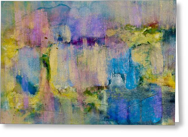 Unexpected Quality Greeting Cards - An Iridescent Oil Slick  Greeting Card by Don  Wright