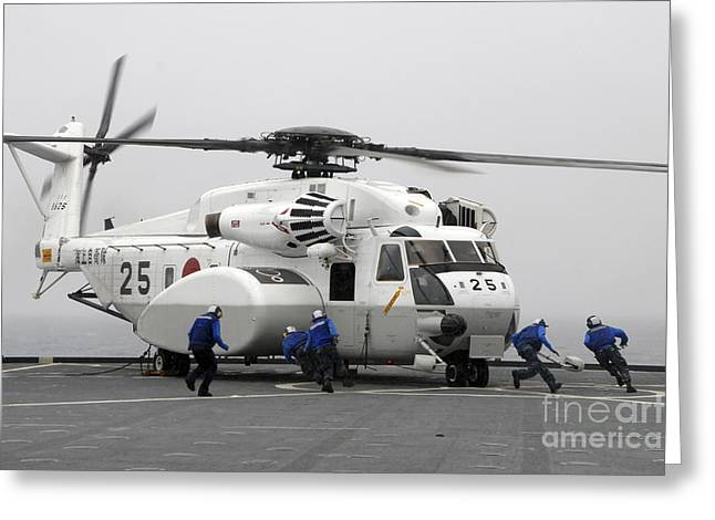 An Mh-53e Super Stallion Helicopter Greeting Card by Stocktrek Images