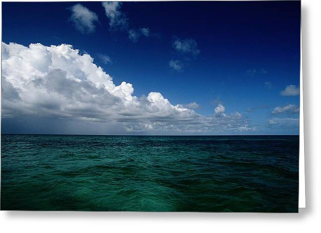 Grand Turk Island Greeting Cards - An Overall Scenic From Grand Turk Greeting Card by Wolcott Henry