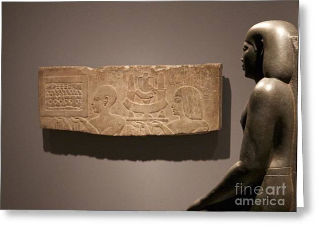 Carnegie Museum Of Art Greeting Cards - Ancient Memories Greeting Card by James Knights