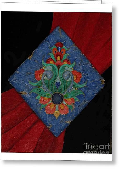 Mehran Akhzari Greeting Cards - Ancient of Persian Greeting Card by Mehran Akhzari