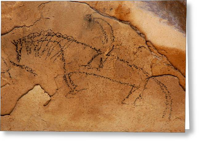 Rock Jewelry Greeting Cards - Ancient Rider Greeting Card by Nena Trapp