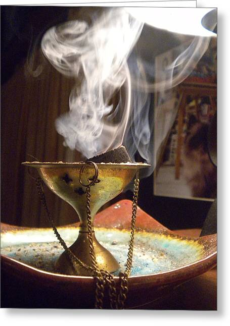 Ancient Scents Greeting Card by Crespo