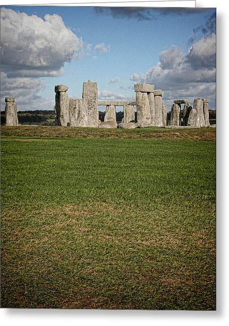 Ancient Stones Greeting Card by Heather Applegate