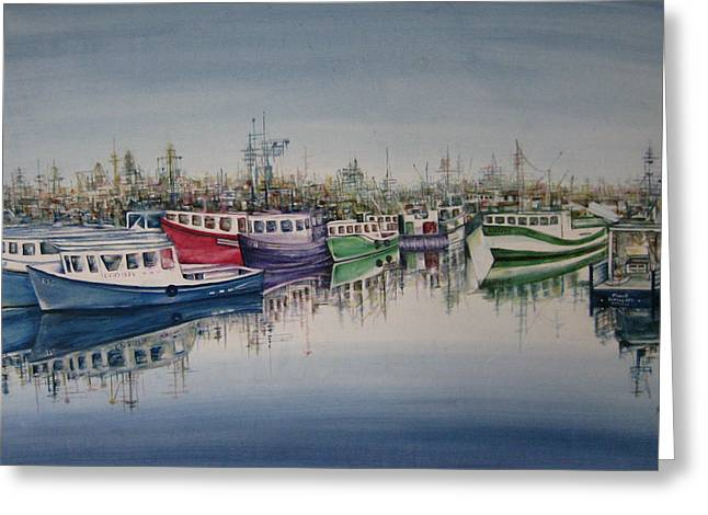 Fishing Tournaments Greeting Cards - AND They Are Off Greeting Card by NHowell