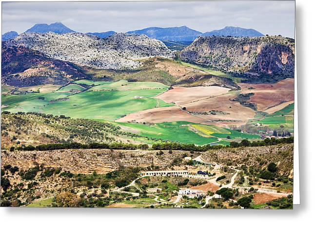 Southern Province Greeting Cards - Andalucia Countryside Greeting Card by Artur Bogacki