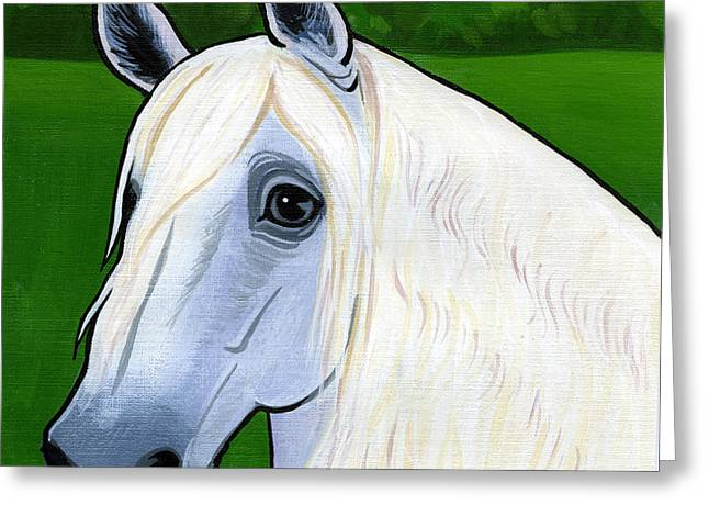 Horse Breed Greeting Cards - Andalusian Appeal Greeting Card by Leanne Wilkes