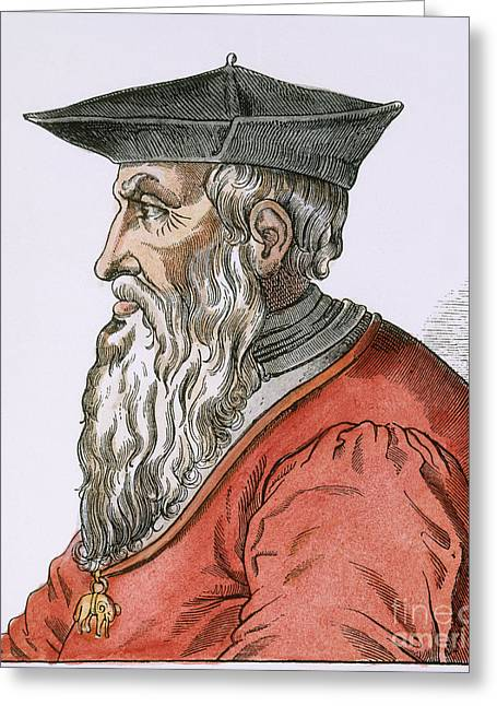 Genoese Greeting Cards - Andrea Doria (1466-1560) Greeting Card by Granger