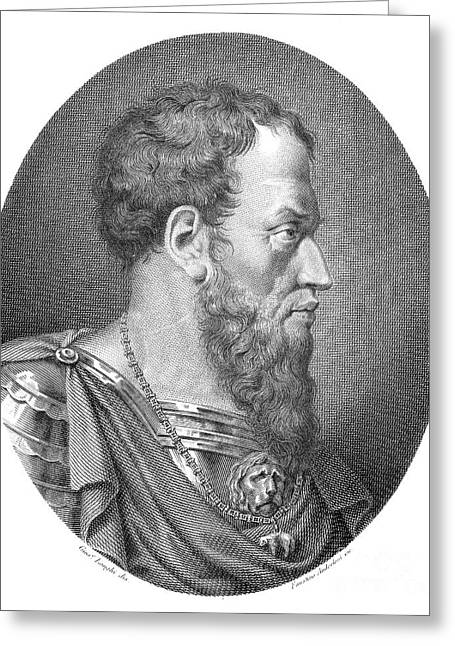 Genoese Greeting Cards - Andrea Doria (1468-1560) Greeting Card by Granger