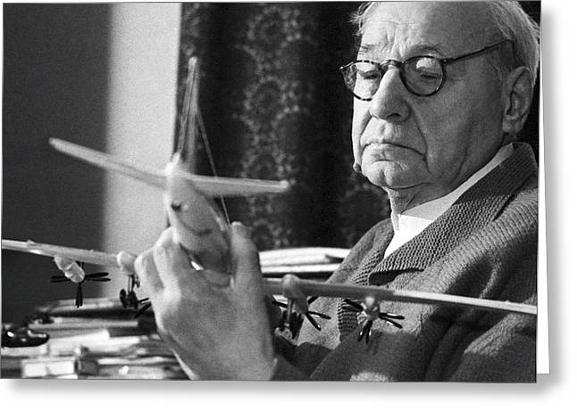 Nikolayevich Greeting Cards - Andrei Tupolev, Soviet Aircraft Designer Greeting Card by Ria Novosti