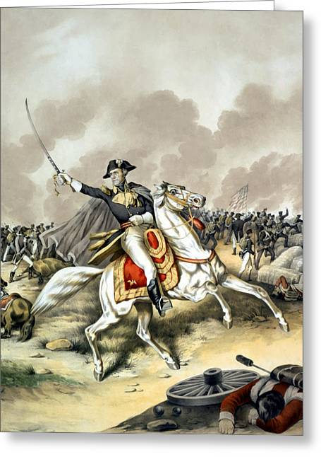 Product Greeting Cards - Andrew Jackson At The Battle Of New Orleans Greeting Card by War Is Hell Store