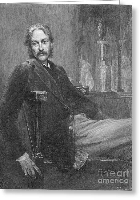 Andrew Lang (1844-1912) Greeting Card by Granger