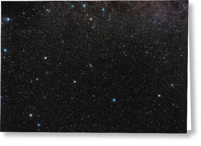 Andromeda Constellation Greeting Card by Eckhard Slawik