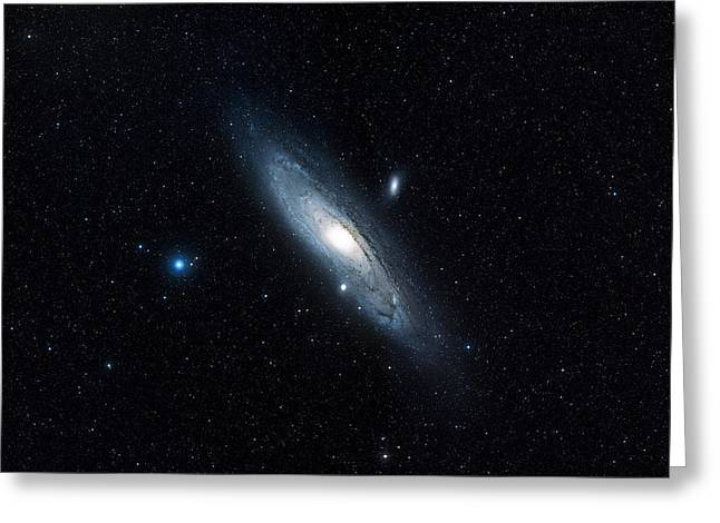 Andromeda Galaxy (m31) Greeting Card by Davide De Martin