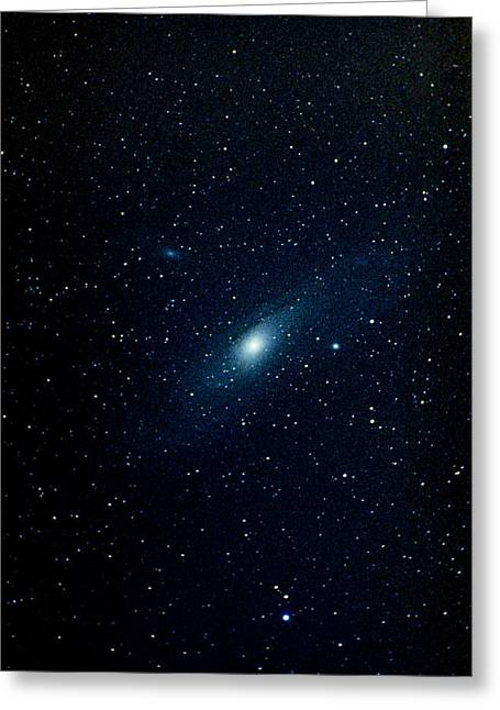 Andromeda Galaxy (m31, Ngc 224) Greeting Card by John Sanford