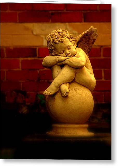 Ethereal Angel Art Greeting Cards - Angel in Ballaret Greeting Card by Tam Graff