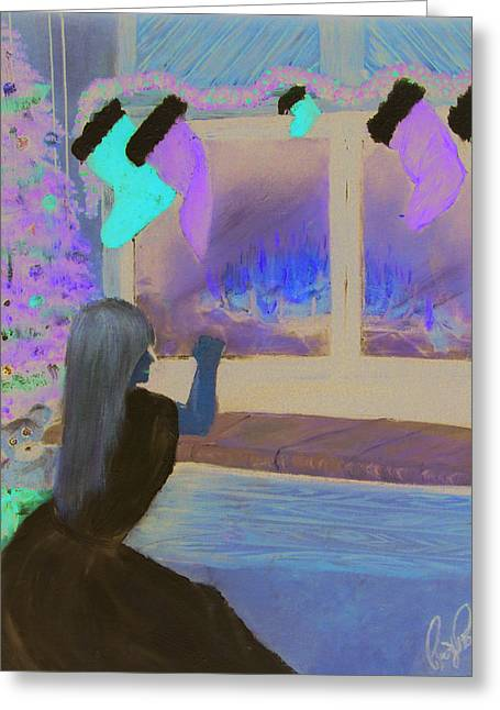 Daughter Gift Greeting Cards - Angel In Waiting Greeting Card by Roger Rambo