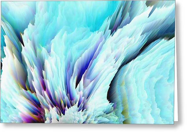 ANGEL WINGS AND HEAVEN Greeting Card by Sherri  Of Palm Springs