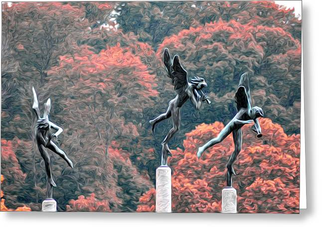 East River Drive Greeting Cards - Angels Greeting Card by Bill Cannon