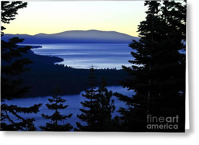 Angora Lakes Greeting Cards - Angora Ridge Greeting Card by Mitch Shindelbower