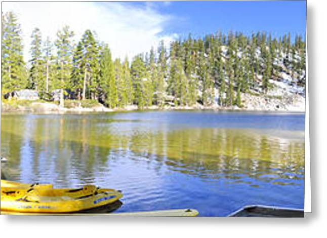 Angora Lakes Greeting Cards - Angora Tranquility Base Greeting Card by Geoffrey Hill