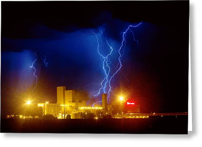 """""""lightning Bolt Pictures"""" Greeting Cards - Anheuser-Busch On Strikes Greeting Card by James BO  Insogna"""