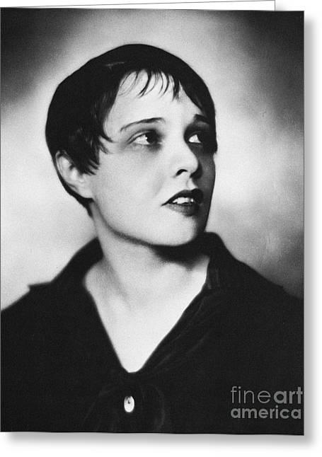 Screenwriter Greeting Cards - Anita Loos (1893-1981) Greeting Card by Granger