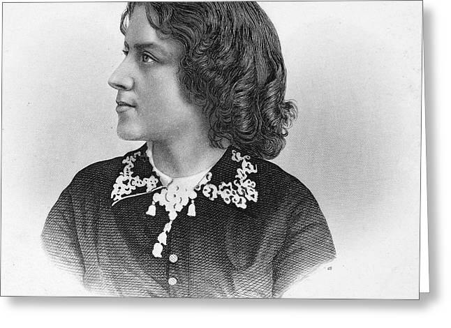 ANNA ELIZABETH DICKINSON Greeting Card by Granger