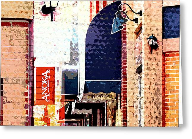 Minnesota Photo Greeting Cards - Anoka Minnesota Greeting Card by Susan Stone