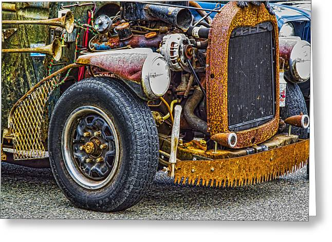 Ron Roberts Photography Greeting Cards Greeting Cards - Another Rat Rod Greeting Card by Ron Roberts