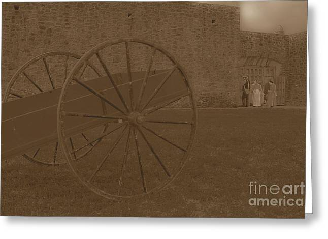 Goliad Texas Greeting Cards - Another Time at Pesidio La Bahia Greeting Card by Kim Henderson