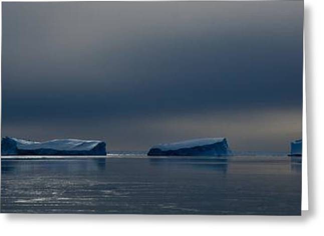 Division Greeting Cards - Antarctic Landscape 115 Greeting Card by David Barringhaus