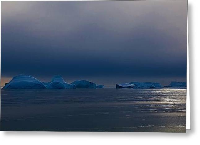 Division Greeting Cards - Antarctic Landscape 120 Greeting Card by David Barringhaus