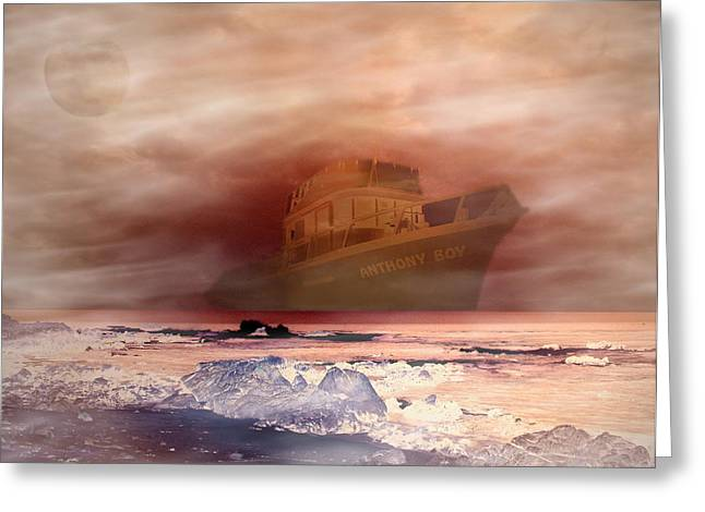 Storm Prints Digital Greeting Cards - Anthony Boys Magical voyage Greeting Card by Joyce Dickens