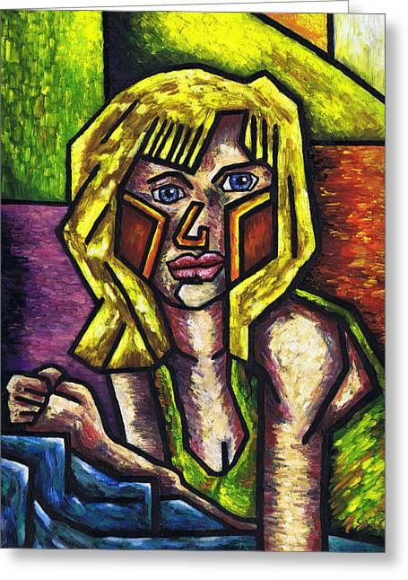 Outlook Paintings Greeting Cards - Anticipation Greeting Card by Kamil Swiatek