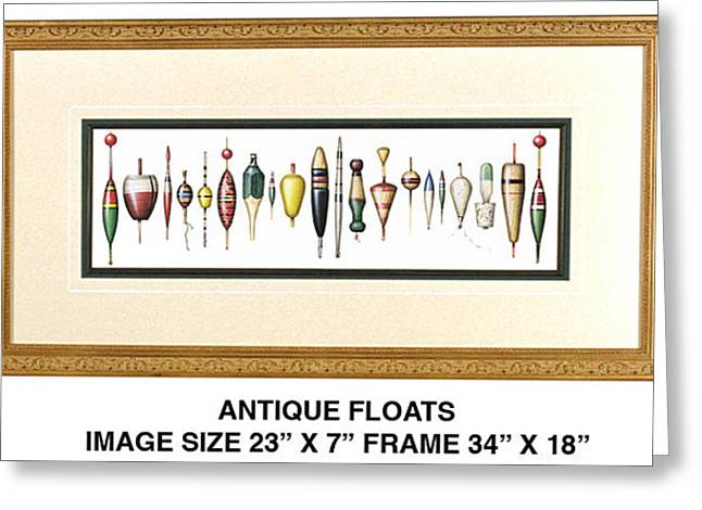 Antique Floats Greeting Card by JQ Licensing