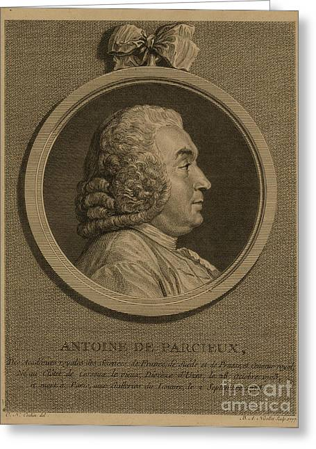 Antoine Deparcieux Greeting Card by Granger