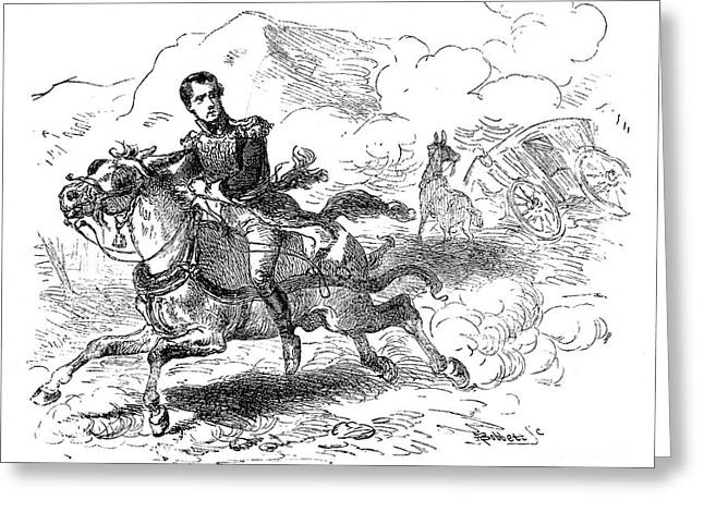 Mexican Revolution Greeting Cards - ANTONIO LOPEZ de SANTA ANNA Greeting Card by Granger