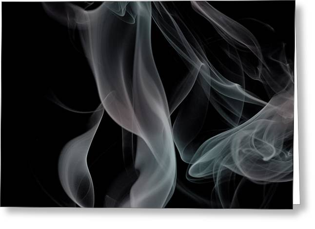 Smoke Art Greeting Cards - Any Colour You Like Greeting Card by Bryan Steffy