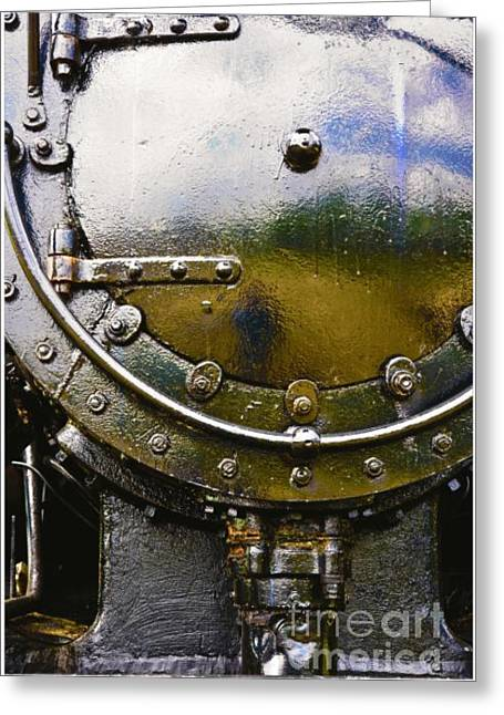 Train Greeting Cards - Apollo Greeting Card by Juan Alonso