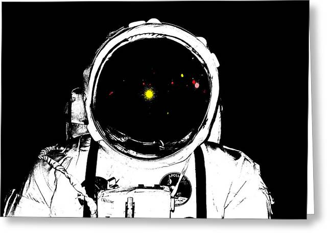 James Hill Greeting Cards - Apollo Spacesuite Greeting Card by James Hill