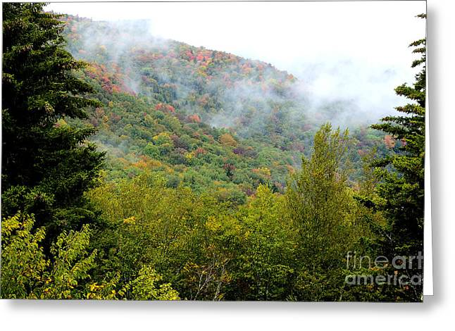 West Virginia Highlands Greeting Cards - Appalachian Mountains First Day of Fall Greeting Card by Thomas R Fletcher