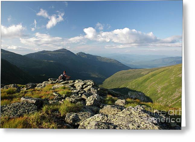 Satisfaction Greeting Cards - Appalachian Trail  - White Mountains New Hampshire Greeting Card by Erin Paul Donovan
