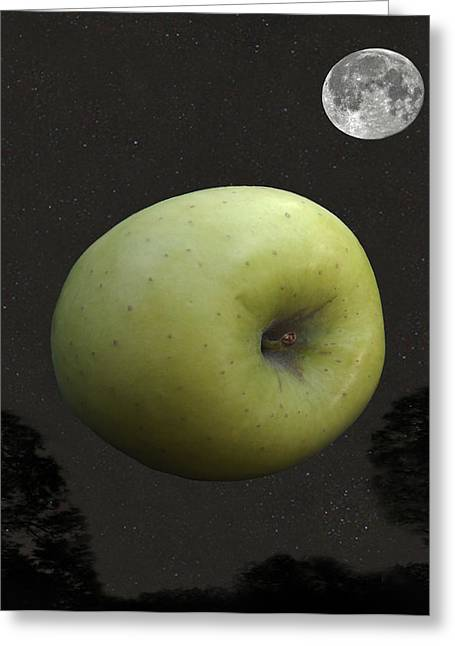 Art Of Soul Music Greeting Cards - Apple Greeting Card by Eric Kempson