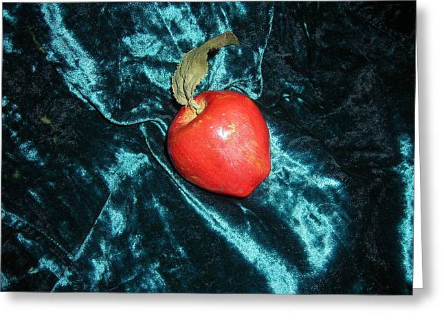17 Months Greeting Cards - Apple Greeting Card by Paula  Smith