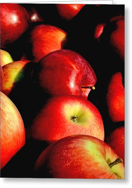 Apple Pie Greeting Cards - Apple Time Greeting Card by Joann Vitali