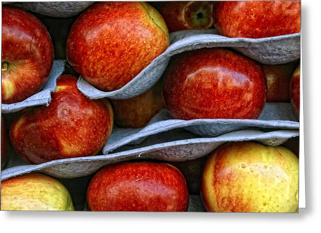 Fruit Store Greeting Cards - Apples Greeting Card by Robert Ullmann