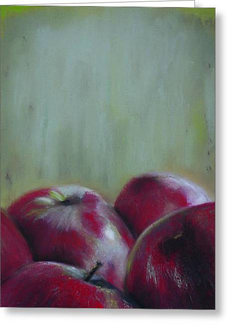 Paul Autodore Artist Greeting Cards - ApplesYo Greeting Card by Paul Autodore